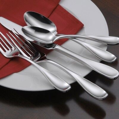 Oneida Voss 65 Piece Casual Flatware Set, Service for 12