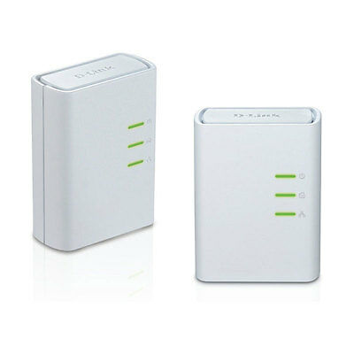 D-Link DHP-309AV Powerline AV+ Network Ethernet Adapter Extender kit 2 DHP-308AV