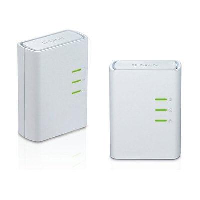 D-Link DHP-309AV Powerline AV+ Network Ethernet Adapter Extender kit 2 DHP-308AV