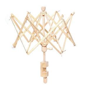 Usefull Umbrella Wooden(Birch) Swift Yarn Winder HOLDER Knitting Ball Tools DS