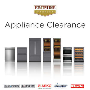 Save up to $3900 on Appliances from Sub-Zero, Wolf, ASKO & More!
