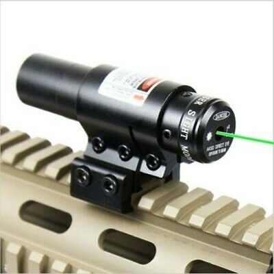 Tactical Green Laser Light Combo Sight Rifle Pistol Compact Picatinny Mount HOT Combo Green Compact