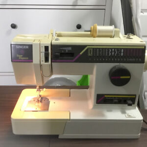 Singer super elegance sewing machine