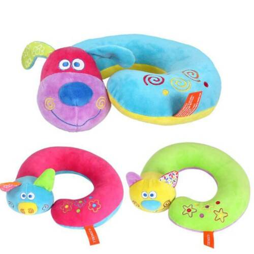 Cute Cartoon U-shaped Animal Travel Memory Neck Pillow Suppo