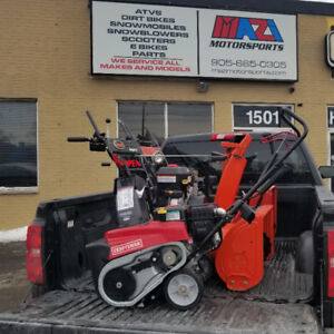 SNOWBLOWER Service and REPAIR ** 905 665 0305 **