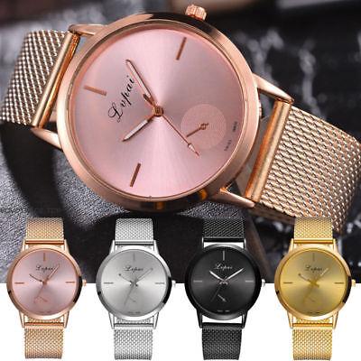 - Quartz Wrist Watch Women Ladies Silicone Strap Analog Fashion Casual Watches NEW