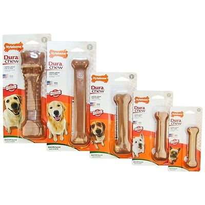 - Nylabone DuraChew Bacon Flavored Free Shipping  (All Sizes)