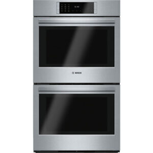 "Bosch HBLP651UC Benchmark Series 30""  Double Wall Oven"