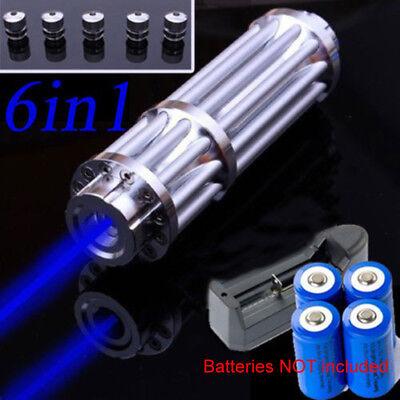Focusable 1w 1000mw 450nm Blue Laser Module Flashlight Torch Visible Beam Lazer