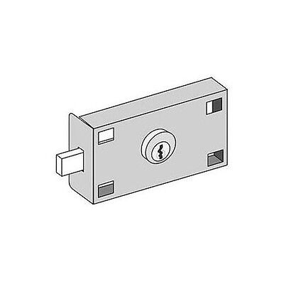 Master Commercial Lock Private Access FL 4B+ Horizontal Mailbox & Parcel -