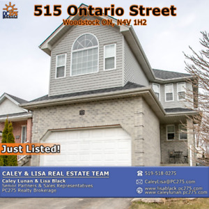 515 Ontario Street – Charming Family Home in South Woodstock