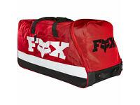 FOX RACING BLACK SHUTTLE MX GEAR BAG OFF ROAD DIRT BIKE BAJA UTV 600D POLYESTER