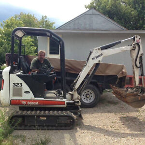 Excavating,foundation repairs,trenches,drywells and french drain Kitchener / Waterloo Kitchener Area image 4