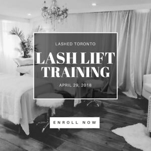 Lash Lift Training Certification Course | Toronto Only $360