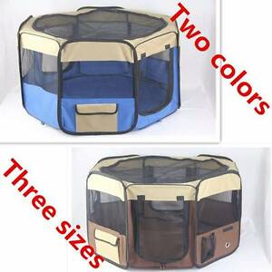Pet Playpen Puppy Dog Cat Play Pen Soft Crate Cage Enclosure Tent Mordialloc Kingston Area Preview