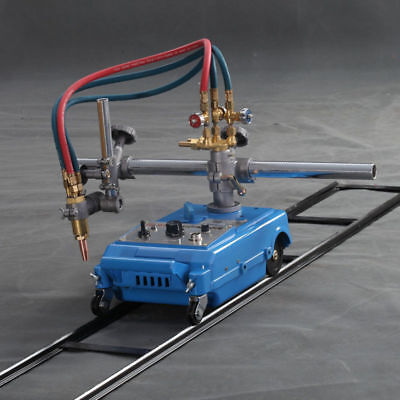Straight Line Track Torch Kit Burner Portable Handle Gas Cutting Machine 110v