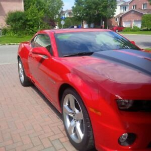2011 Chevrolet Camaro Red Coupe (2 door)