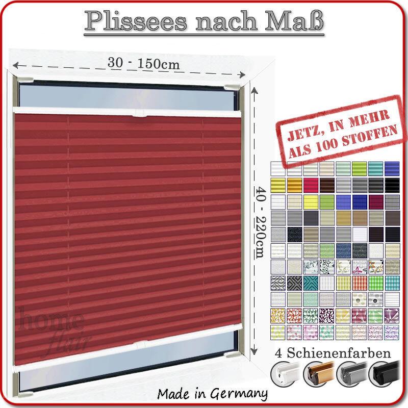 PLISSEE FALTSTORE NACH MAß(Plissees Rolllo, Plisse Faltrollos für Fenster & Tür)