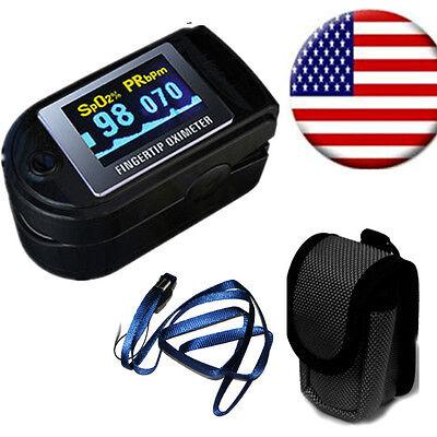 Fda Contec Cms50d Oled Pulse Oximeter Fingertip Spo2 Pr Sensor Heart Monitor