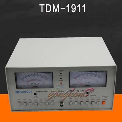 Tdm-1911 Automatic Distortion Meter 0.01 - 30 Audio Distortion Meter 110v220v