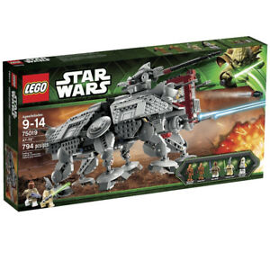 LEGO STAR WARS SET #75019 AT-TE (COMPLETE W/INSTRUCTIONS & BOX)