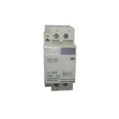 Contactor modular 2p 63 amp