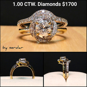 DIAMOND ENGAGEMENT RINGS BELOW COST FROM MANUFACTURER