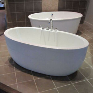 Free Standing Acrylic Tub - Brand New in Box!
