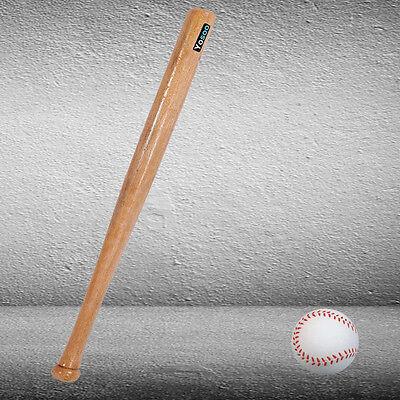 "32""/ 81cm Baseballschläger Baseball Bat Holz Naturfarbe Softballschläger CR 06"