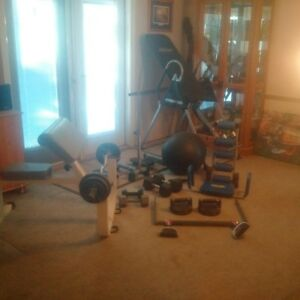 core building exercise equipment