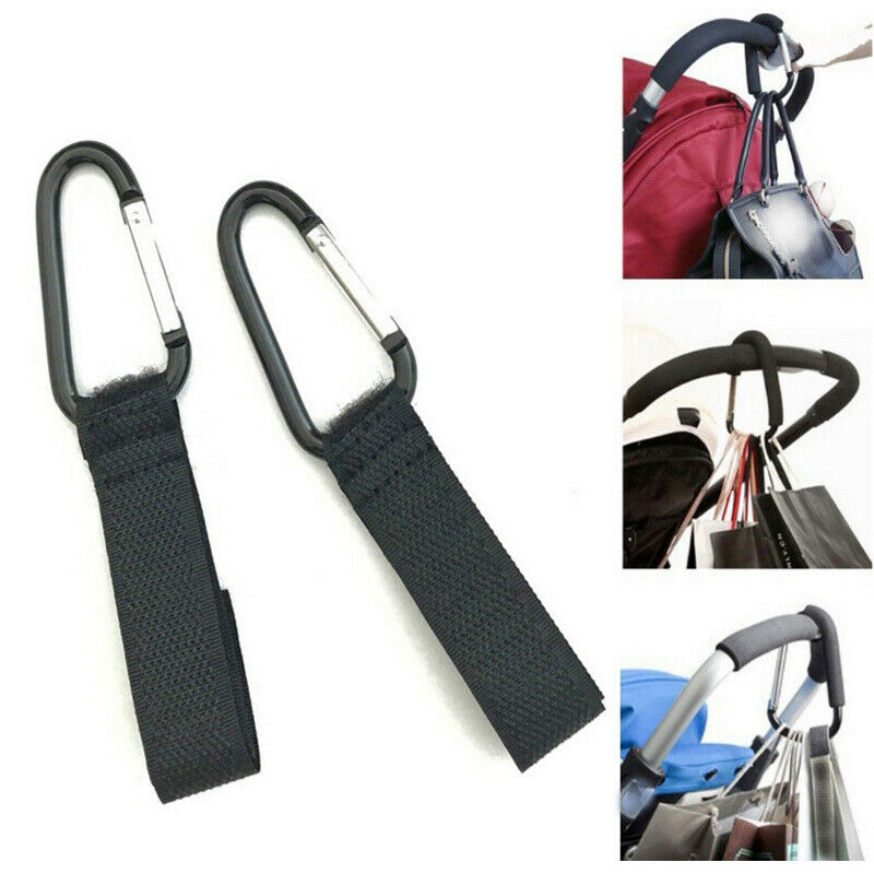 2pcs Multi Purpose Baby Stroller Hook Baby Stroller Accessories Shopping HoQA