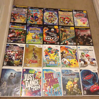 Nintendo Gamecube and Wii games for sale