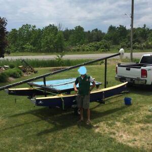 Hobie cat catamaran 14-foot with trailer