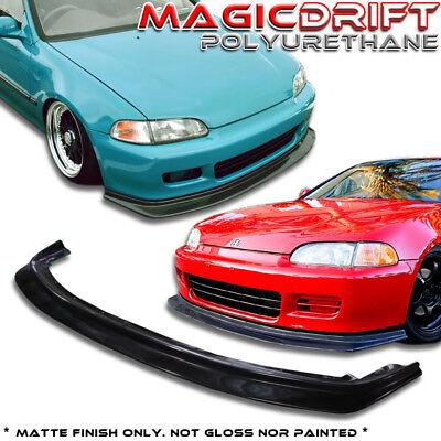 92 93 94 95 Honda Civic EG JDM Flugel Plate Splitter Front Bumper Spoiler Lip (92 95 Civic Jdm)