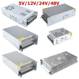 DC-5-V-12-V-24-V-48-V-Universal-regulada-Switching-Power-Supply-LED-3D-Impresora-Cctv
