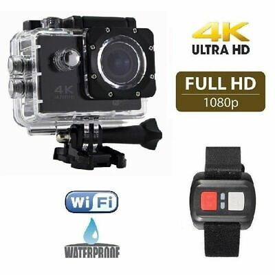 Fotocamera Subacquea Full Hd Sport Cam Wifi 4k Telecomando cir