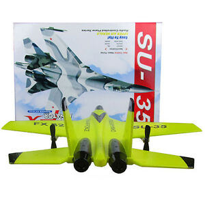 Mini RC Airplane RTF Su 35 Radio Controll Jet Fighter for Kids N Beginners EPP