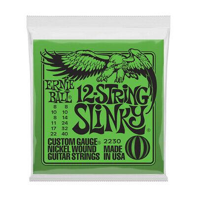 Ernie Ball 12-String Slinky Cuerdas Guitarra Eléctrica (Nuevo)