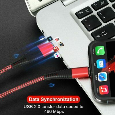 Best Fast iPhone Cable Lightning Charger Fast Charging USB Data Unbreakable