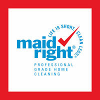 Maid Right Residential Cleaner - Guaranteed Full-Time Hours