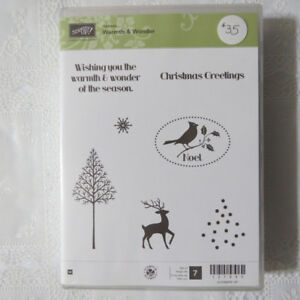 """""""Stampin' up""""  stamps for Christmas...""""Warmth & Wonder"""""""