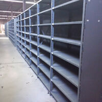 "Steel Industrial Shelving 42"" x 18"" x 7'4 - Lots in stock!"