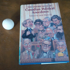The Oxford Book of Canadian Political Anecdotes