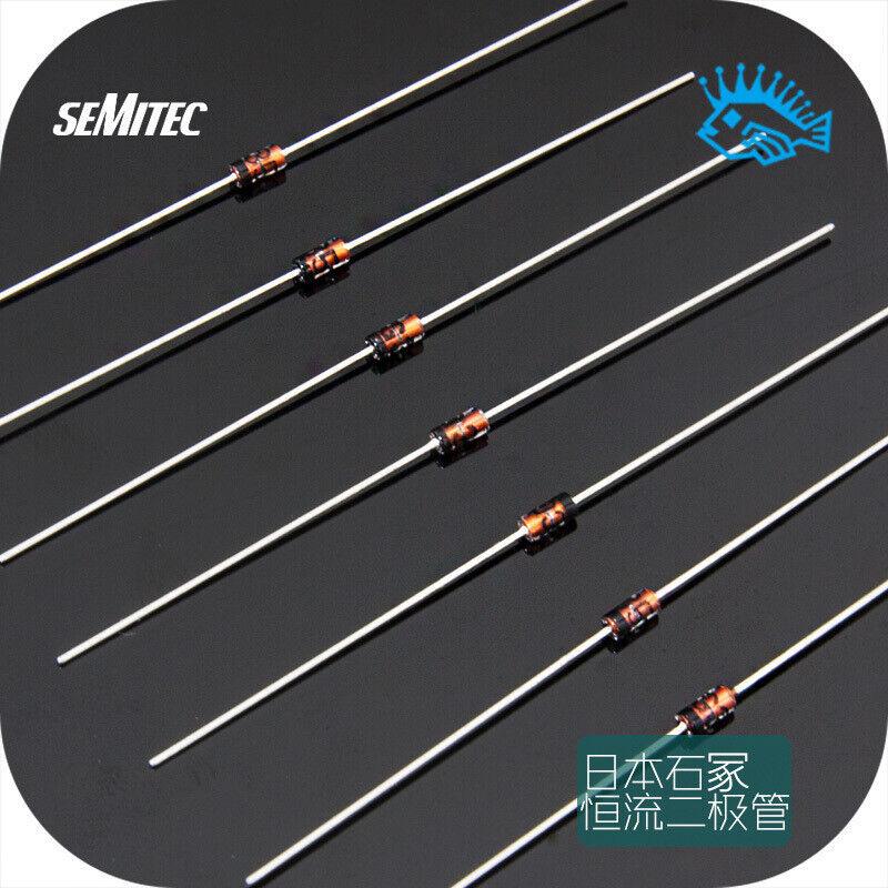 2/20pcs Semitec Constant Current Diode 1.0/1.5/2.0/2.7/3.5/4.5 mA