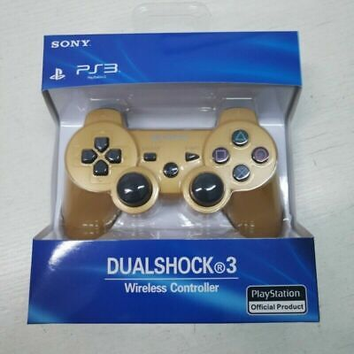 PS3 Wireless DualShock 3 Controller Joystick GamePad Gold for PlayStation3