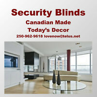 Quality Leather Furniture and Security Blinds Done Right For YOU