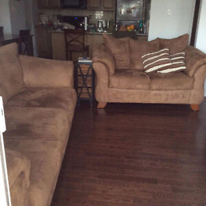 URGENT 2 Sofas, 3pcs bedroom set (no bed)