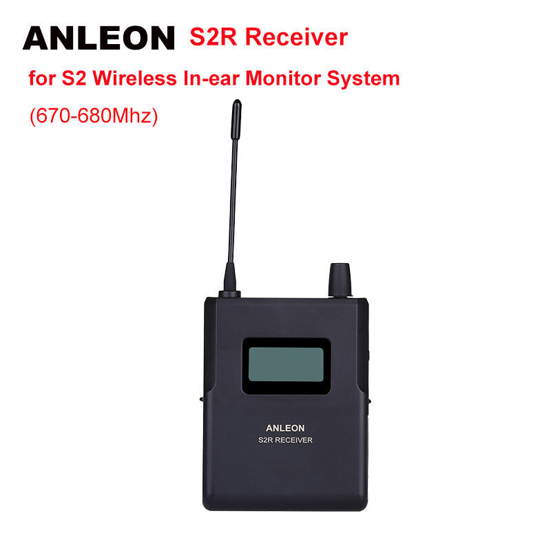 ANLEON S2 UHFIEM Wireless Monitor System In-earStage Stereo MonitorReceiver
