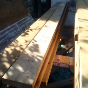 various 2X6 , 2X4 ,2X10s , PTposts...left over  framing material