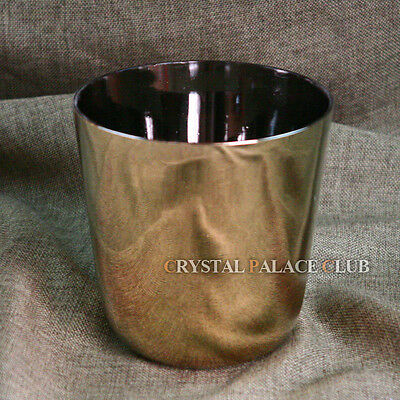 Golden Color Quartz Crystal Singing Bowl G# 5.25 Inch for sale  Shipping to Canada